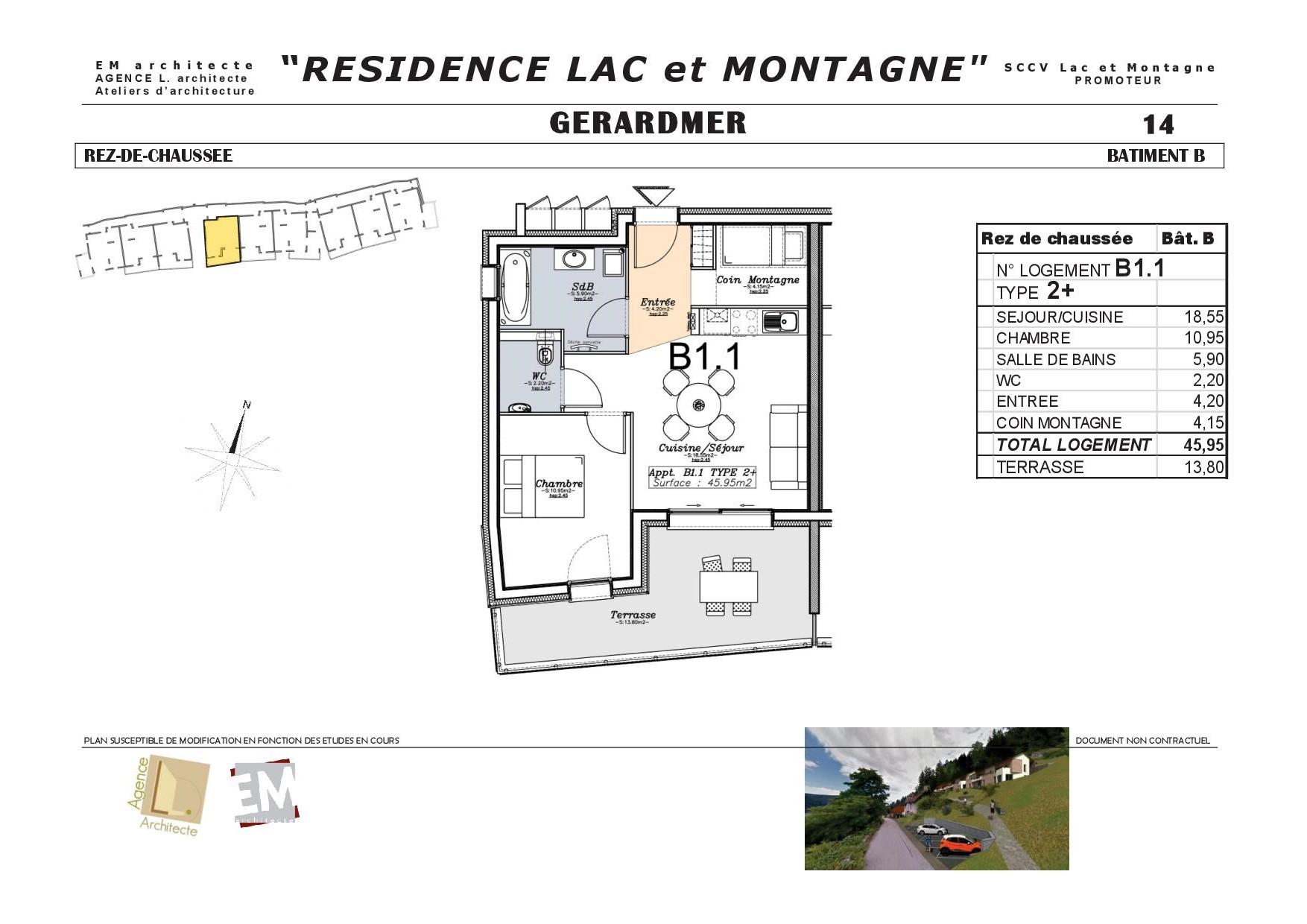 Résidence Lac et Montagne